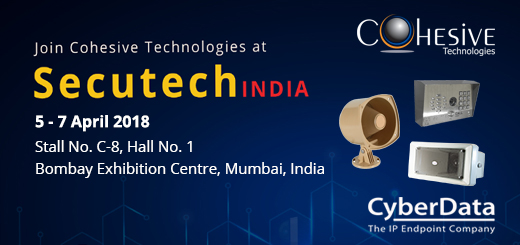 Cohesive Technologies To Exhibit With Cyberdata At