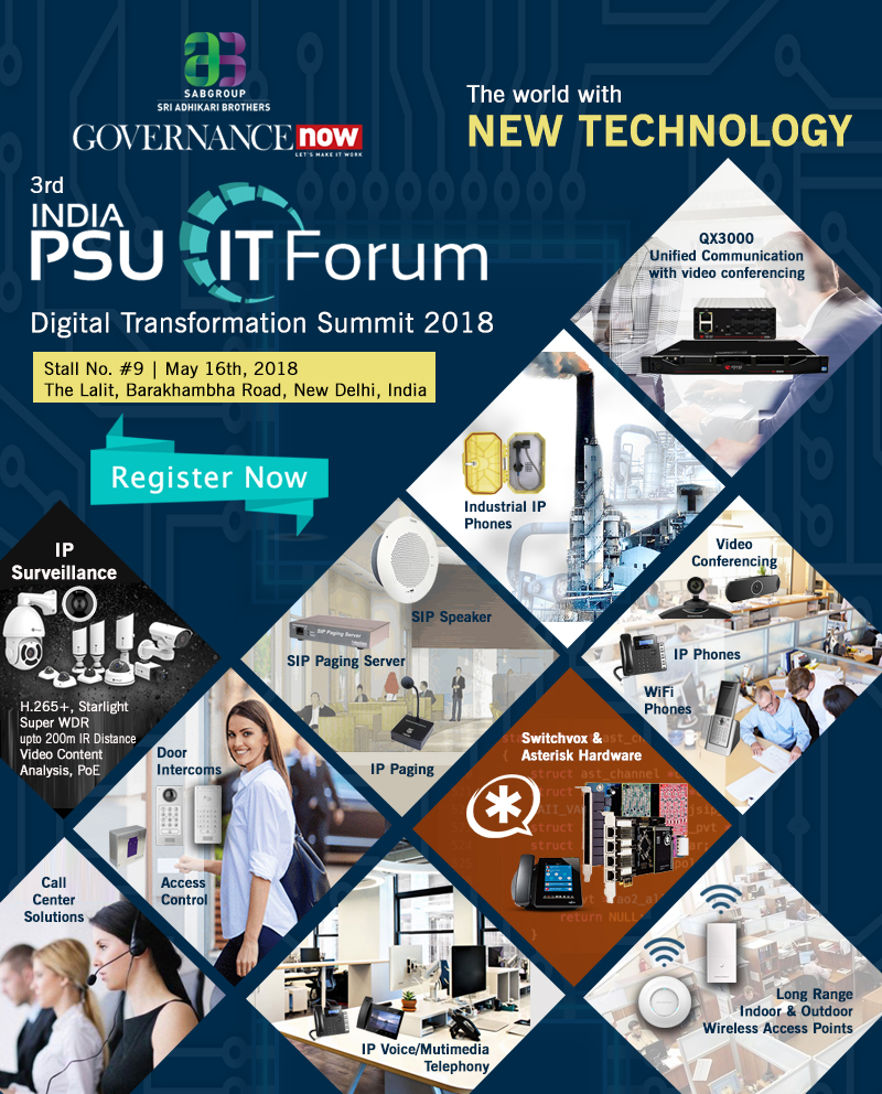 Converged VoIP Solutions at INDIA PSU IT FORUM-2018 by Cohesive