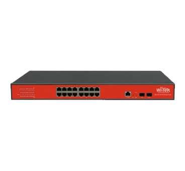 Wi-Tek WI-MS318GF L2 Managed Gigabit Network Switch